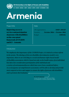 Armenia  Phase 1 Results Achieved
