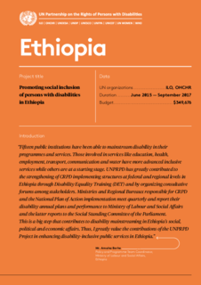 Ethiopia Results Achieved Phase 1